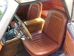 1969 Cord Warrior interior