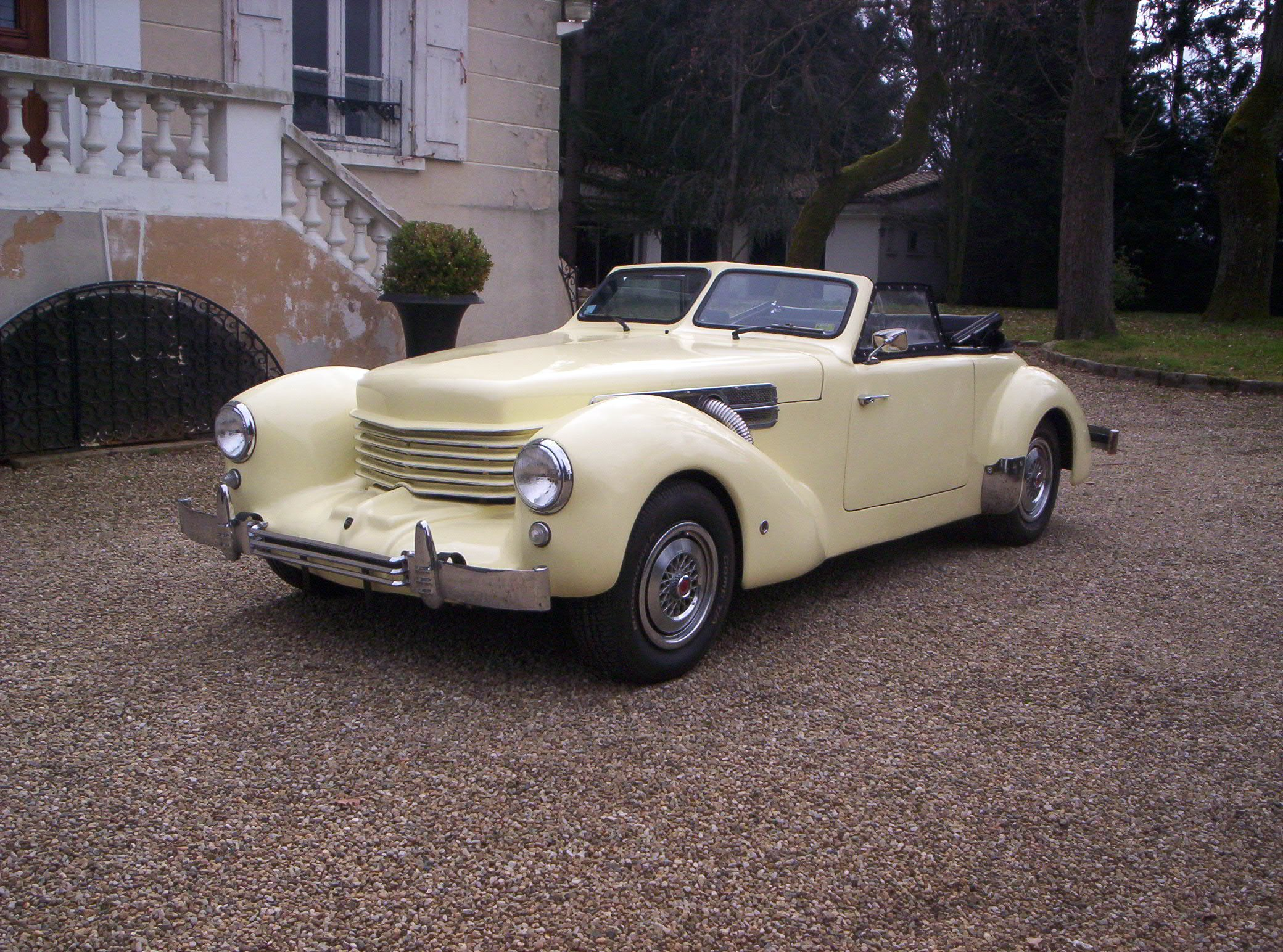 1968 Cord Warrior - Owner Herve Llucia - Lyons, France